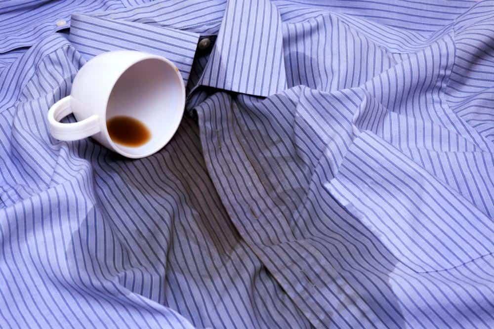 Tar bort kaffefläckar