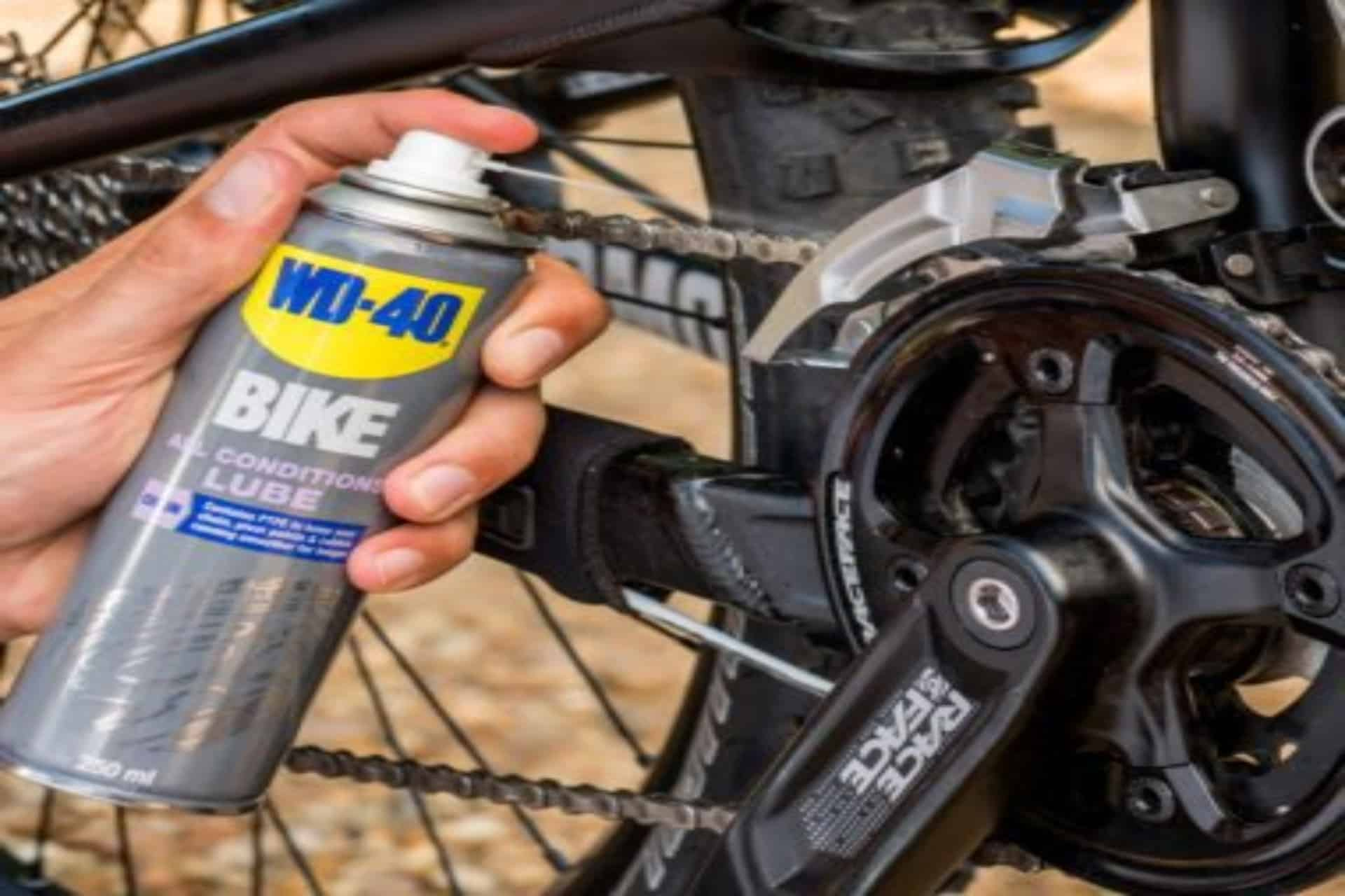 wd40 bike chain
